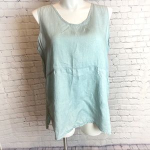 Flax Linen Sleeveless Top